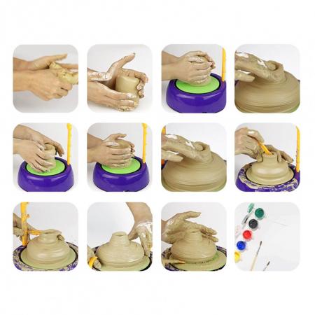 Joc de modelare Roata Olarului pentru copii [4]