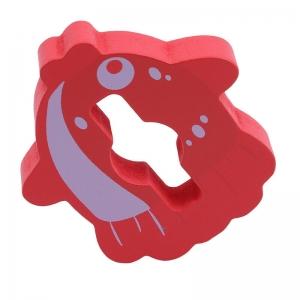 Joc Educativ Puzzle Recunoasterea Formei din Lemn Pestisorul Kabi4