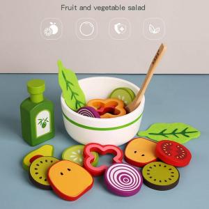 Joc din lemn legume -  Invata sa facem salata Kabi1