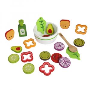 Joc din lemn legume -  Invata sa facem salata Kabi7