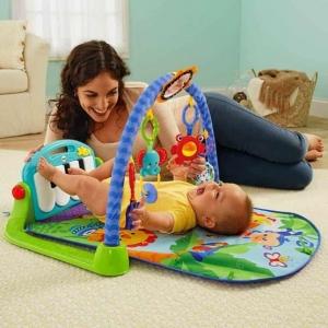 Saltea de Joaca Bebe cu Centru Activitati 4 in 1 Piano4