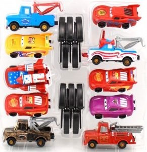 Set de 10  Masinute Cars1