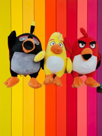 Set 3 Jucarii de Plus Angry Birds [1]