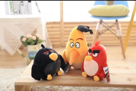 Set 3 Jucarii de Plus Angry Birds [2]