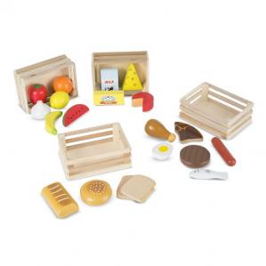 Set Alimente din Lemn pentru Copii Melissa and Doug2