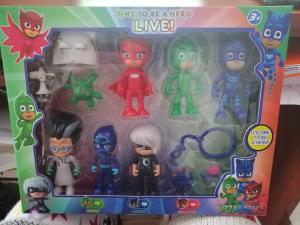 Set 6 figurine Eroii in Pijama pentru copii3