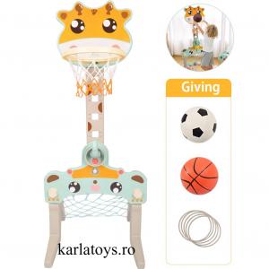 Set Centru de Activitati Sportive 3 in 1 Girafa0