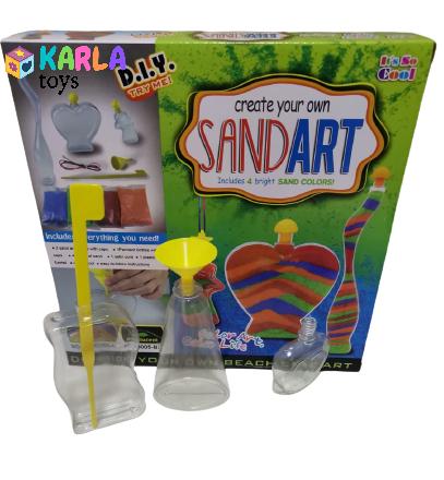 Set creativ cu nisip Sand Art2