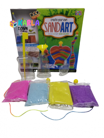 Set creativ cu nisip Sand Art1