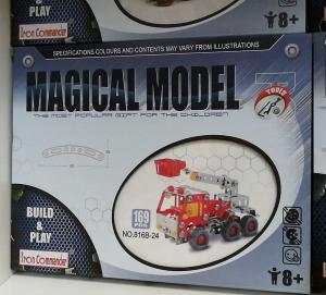Set de Construit din Metal Magic Model3