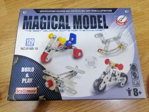 Set de Construit din Metal Magic Model2
