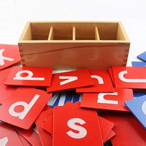 Set din Lemn Carduri Litere Montessori [1]