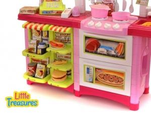 Fast Food Bucatarie de Jucarie - Bucatarie Copii Mare cu Accesorii3