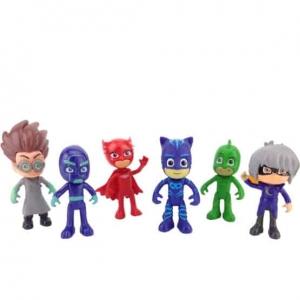 Set 6 figurine Eroii in Pijama pentru copii1