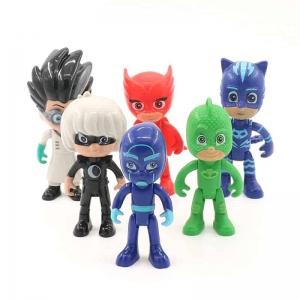 Set 6 figurine Eroii in Pijama pentru copii2