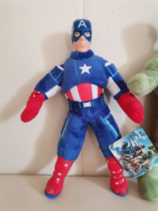 Set jucarii plus Hulk Captain America Spiderman 3 bucati - Avengers3