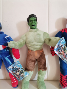 Set jucarii plus Hulk Captain America Spiderman 3 bucati - Avengers1