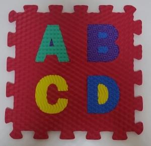 Set puzzel 10 piese cifre si litere - Covoras puzzle Litere si Cifre2