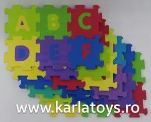 Set covoras puzzle cu cifre si litere 36 de bucati [0]
