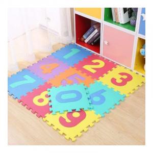 Set puzzle cu cifre 10 placi  - Covor puzzle din spuma Eva 10 placi [0]