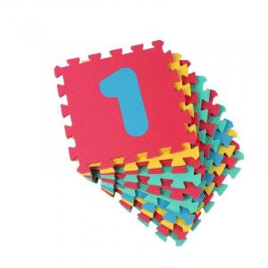 Set puzzle cu cifre 10 placi  - Covor puzzle din spuma Eva 10 placi [1]