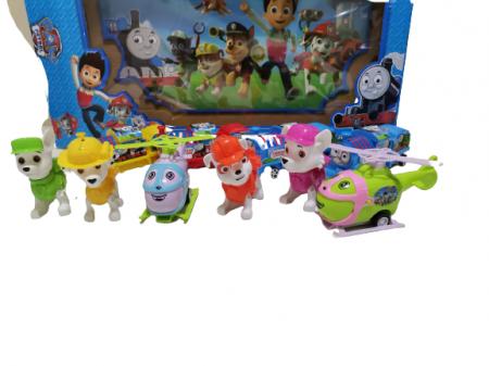 Set Trenulet Thomas si Patrula Catelusilor0