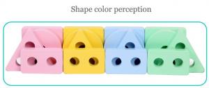 Set 2 Sortator Culori din Lemn Pastel 4 coloane4