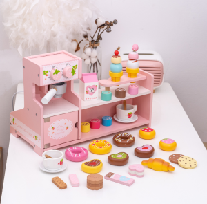 Stand  Lemn Cafenea pentru copii - Mini Magazin deserturi si cafea9