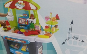 Supermarket pentru copii Little Shopping1