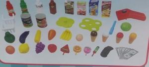 Supermarket pentru copii Little Shopping5