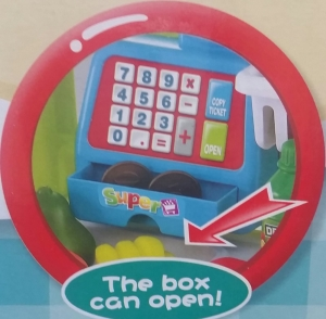 Supermarket pentru copii Little Shopping3