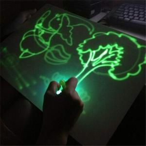 Tabla de Scris cu Lumina Fluorescenta 3D - Tabla de Desen cu Lumina Led6
