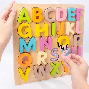 Tabla din lemn Mltifunctionala Alfabet sau Cifre 2 in 11