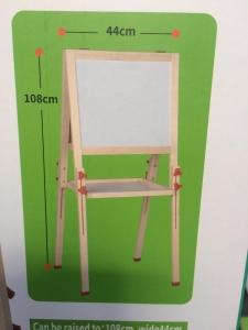 Tabla magnetica din lemn 2 fete Mare1