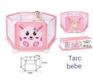 Tarc Copii Mare cu Imprimeu si Cos de Baschet - Tarc bebe Colorat0