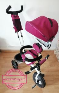 Tricicleta copii Baby Care scaun reversibil - Tricicleta cu scaun 360 grade Baby Care9