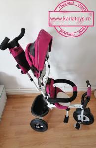 Tricicleta copii Baby Care scaun reversibil - Tricicleta cu scaun 360 grade Baby Care1