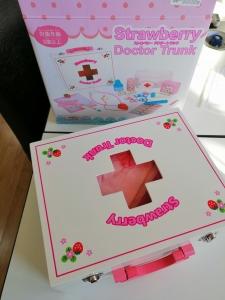 Trusa din lemn de jucarie Doctor Nurse - Trusa de Doctor pentru copii0