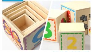 Turn Cuburi din Lemn - Set Cuburi din Lemn Montessori7