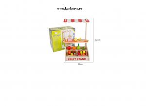 Stand din Lemn Copii Fructe si Legume Farmer - Supermarket de Lemn Copii1