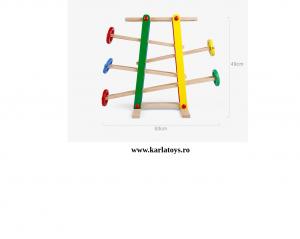 Joc Imdemanare din lemn Cursa cu bile Onshine2
