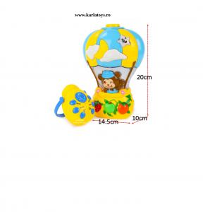 Proiector pentru copii Balonul Maimutica2