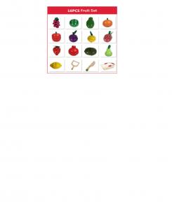 Cosulet din lemn  cu fructe de feliat 16 piese4