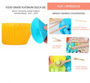Joc Montessori din Lemn Sortator Culori  si Joc de Pescuit Copii4