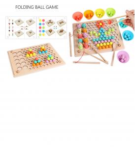 Joc Montessori din Lemn Sortator Culori  si Joc de Pescuit Copii6