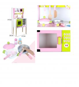 Bucatarie Copii din Lemn Mare Clasica MSN 91 cm3