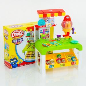 Masa de joaca copii modelare Plastelina 33 de piese - Magazin de modelare Plastelina cu accesorii1