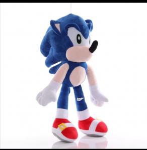 Jucarie de Plus Super Sonic - Jucarie de plus Sonic Hedgehog0