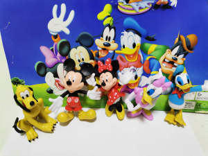 Set 5 figurine personaje Club House Mickey Mouse2
