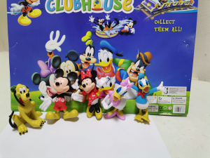 Set 5 figurine personaje Club House Mickey Mouse1
